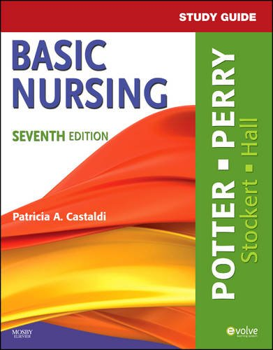 Study Guide for Basic Nursing  7th 2010 edition cover