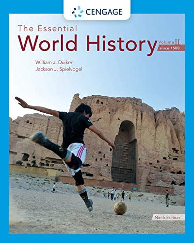Cover art for The Essential World History, Volume II: Since 1500, 9th Edition