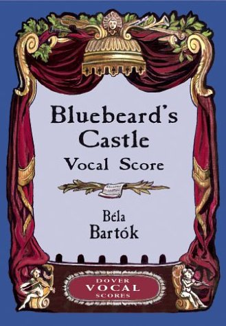 Bluebeard's Castle Vocal Score  N/A edition cover