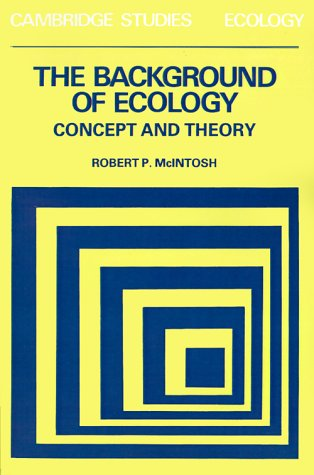 Background of Ecology Concept and Theory N/A edition cover