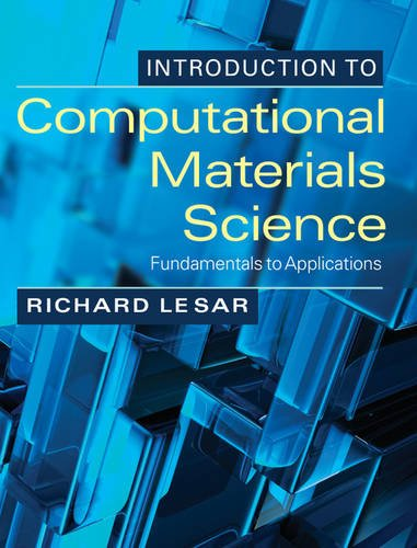Introduction to Computational Materials Science Fundamentals to Applications  2013 edition cover