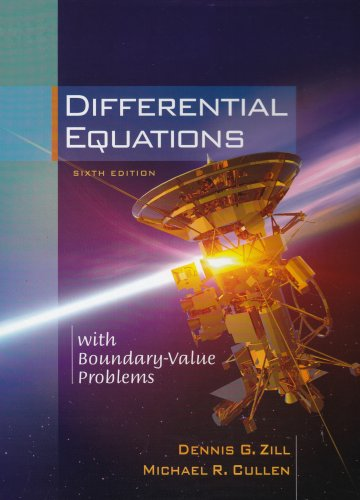 Differential Equations with Boundary-Value Problems  6th 2005 edition cover