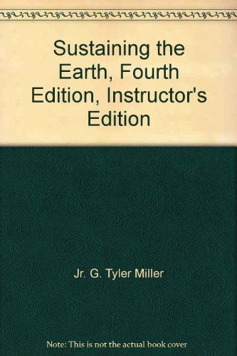SUSTAINING THE EARTH >EXAM COP N/A 9780534562878 Front Cover