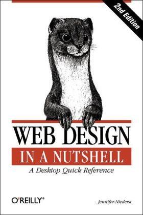 Web Design in a Nutshell A Desktop Quick Reference 3rd 2006 (Revised) edition cover