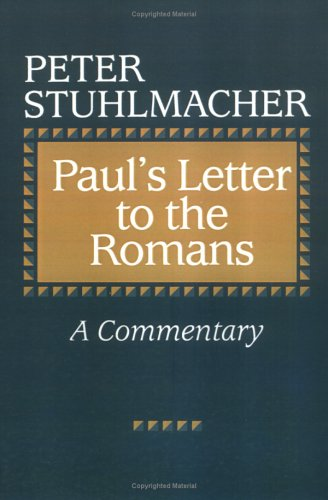 Brief an die Romer  N/A 9780664252878 Front Cover