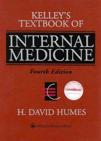 Kelley's Textbook of Internal Medicine  4th 2000 (Revised) edition cover