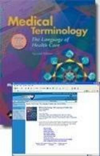 Medical Terminology The Language of Health Caretext Plus Webct Online Course Student Access 2nd 2006 (Revised) 9780781759878 Front Cover