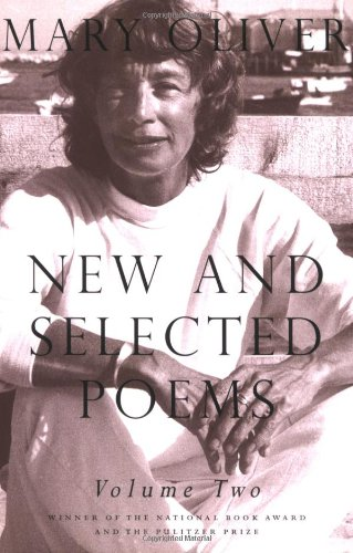Mary Oliver New and Selected Poems   2007 edition cover