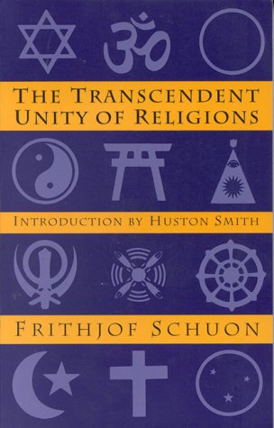 Transcendent Unity of Religions  Revised  edition cover