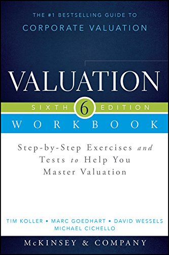 Valuation: Step-by-step Exercises and Tests to Help You Master Valuation  2015 edition cover