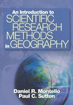 Introduction to Scientific Research Methods in Geography   2006 edition cover
