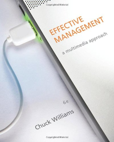 Effective Management:   2013 edition cover