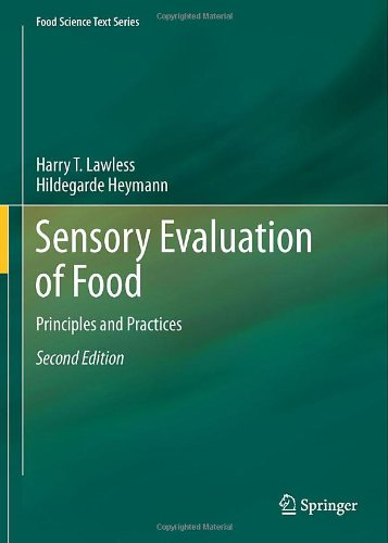Sensory Evaluation of Food Principles and Practices 2nd 2010 edition cover