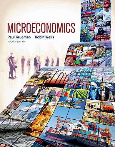 Microeconomics 4th 2014 9781464143878 Front Cover