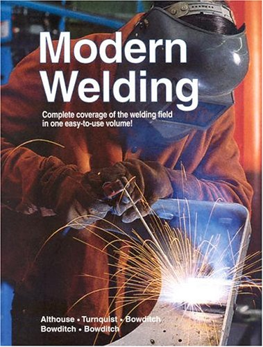Modern Welding  10th 2004 edition cover