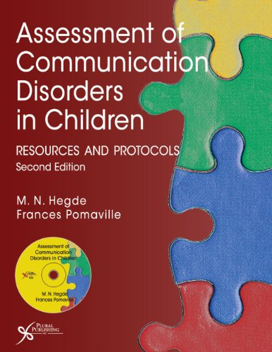 Assessment of Communication Disorders in Children Resources and Protocols 2nd 2013 (Revised) edition cover