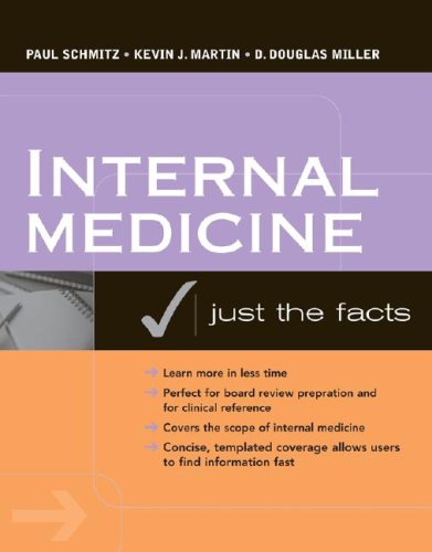 Internal Medicine: Just the Facts   2008 9780071468879 Front Cover
