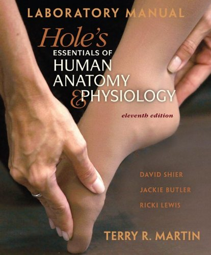 Laboratory Manual for Hole's Essentials of A&P  11th 2012 edition cover