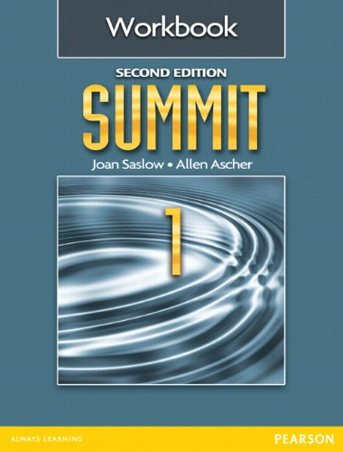 Summit 1 Workbook  2nd 2012 9780132679879 Front Cover