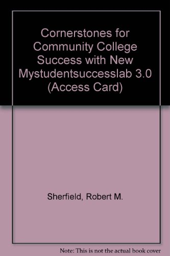 Cornerstones for Community College Success   2012 9780132765879 Front Cover