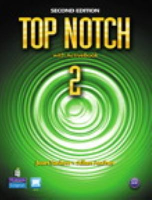 Top Notch 2 Student Book and Workbook Pack  2nd 2011 9780132794879 Front Cover