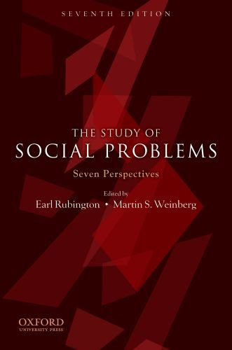 Study of Social Problems Seven Perspectives 7th 2010 9780199731879 Front Cover