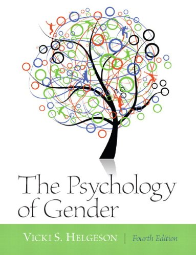 Psychology of Gender  4th 2012 edition cover