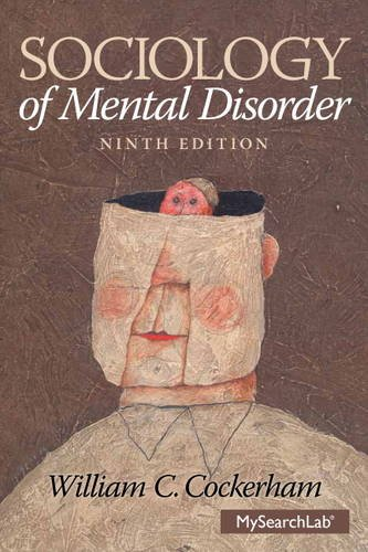 Sociology of Mental Disorder  9th 2014 edition cover