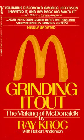 Grinding It Out The Making of Mcdonald's  1990 (Revised) edition cover