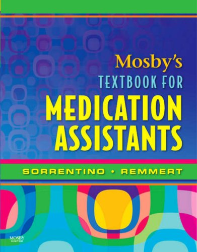 Mosby's Textbook for Medication Assistants   2008 edition cover