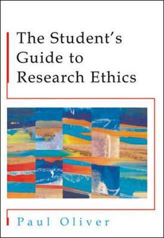 Students' Guide to Research Ethics   2003 (Student Manual, Study Guide, etc.) 9780335210879 Front Cover