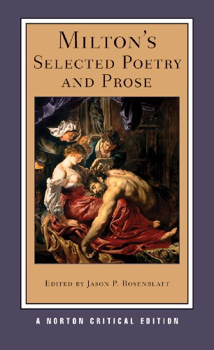 Milton's Selected Poetry and Prose   2011 edition cover