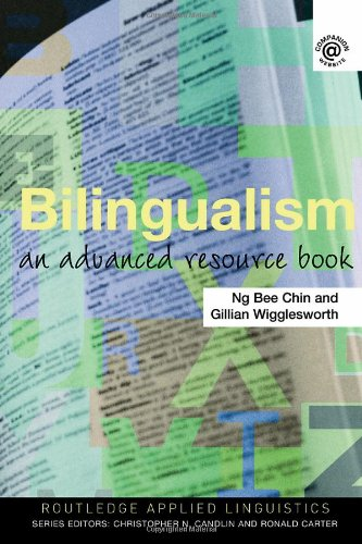 Bilingualism An Advanced Resource Book  2008 edition cover