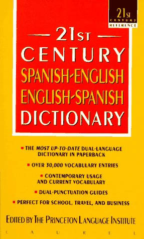 21st Century Spanish-English English-Spanish Dictionary  N/A edition cover