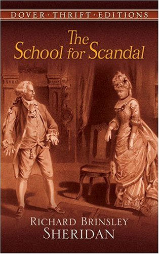 School for Scandal   1991 (Reprint) edition cover