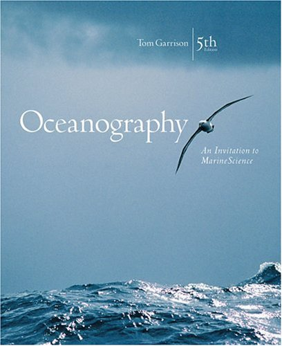 Oceanography An Invitation to Marine Science 5th 2005 9780534408879 Front Cover