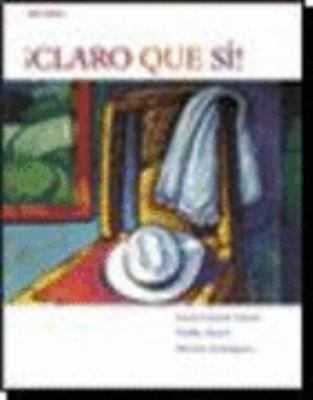 Claro Que Si! with Audio CD 6th 2008 9780618872879 Front Cover
