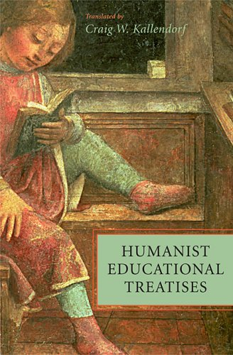 Humanist Educational Treatises   2008 edition cover