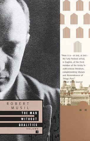 Man Without Qualities  N/A edition cover