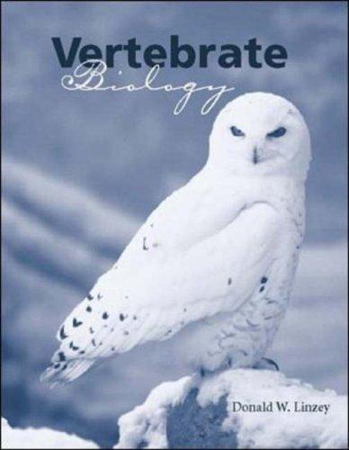 Vertebrate Biology   2001 edition cover