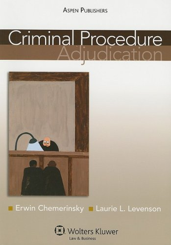 Criminal Procedure Adjudication  2008 9780735577879 Front Cover