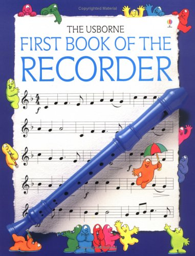 First Book of the Recorder  2nd 1997 edition cover