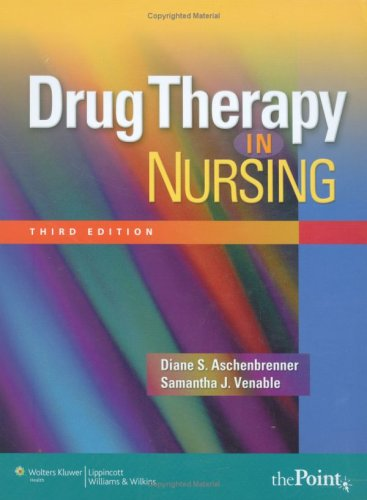 Drug Therapy in Nursing  3rd 2008 (Revised) edition cover