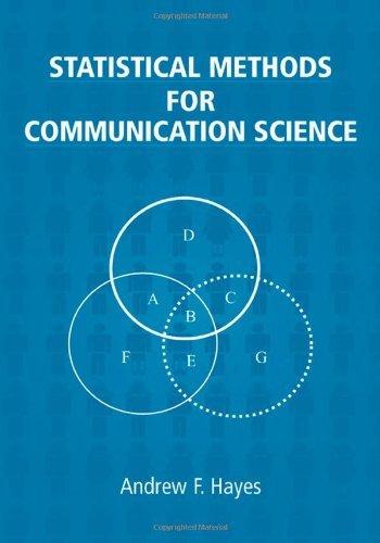 Statistical Methods for Communication Science   2005 9780805854879 Front Cover
