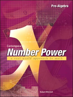 Number Power 10 Pre-Algebra  2000 edition cover