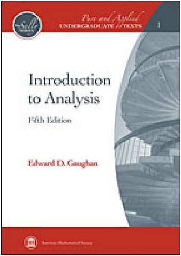 Introduction to Analysis  5th 2009 (Revised) edition cover