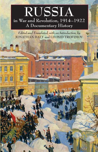 Russia in War and Revolution, 1914-1922 A Documentary History  2009 edition cover