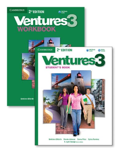 Ventures, Level 3  2nd 2013 (Revised) edition cover