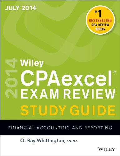Wiley Cpaexcel Exam Review 2014 Financial Accounting and Reporting 12th 2014 edition cover