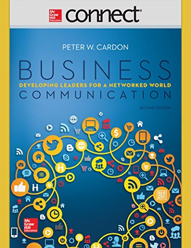BUSINESS COMMUNICATION-CONNECTPLUS      N/A edition cover